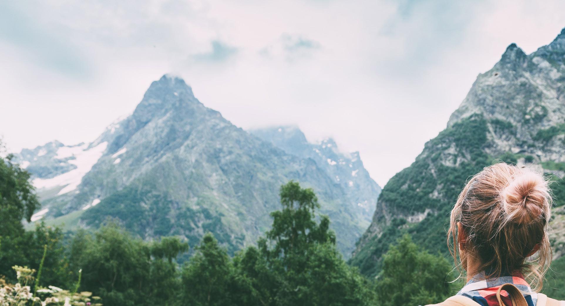 Facing Mountains